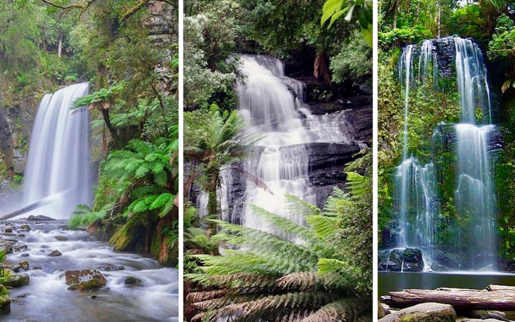 Hopetoun Falls Triplet Falls Beauchamp Falls