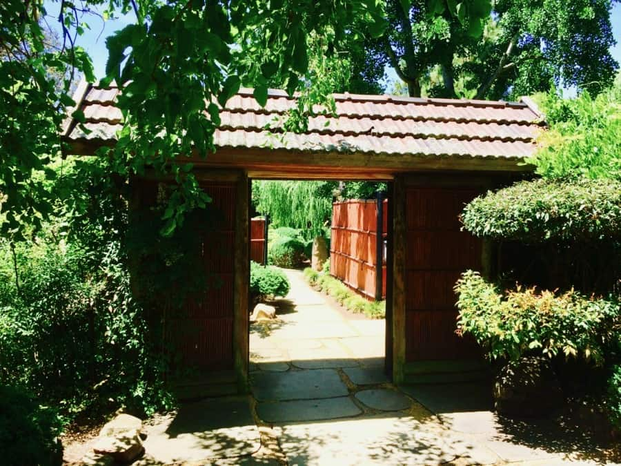 Adelaide Himeji Garden Entrance door