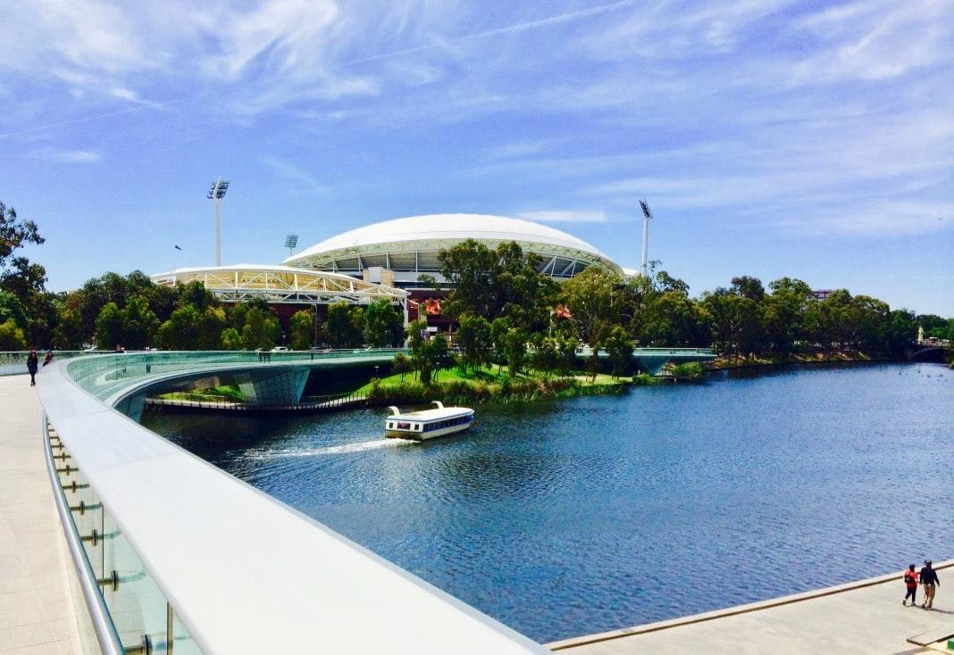 Adelaide Oval Riverbank Bridge River Torrens Popeye Adelaide