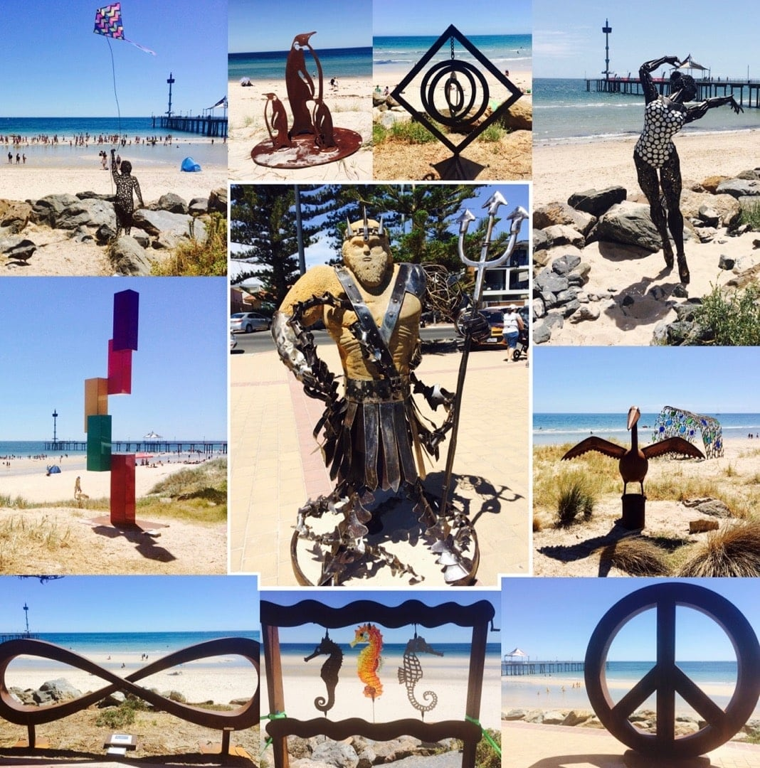 Brighton Jetty Sculptures Adelaide Event