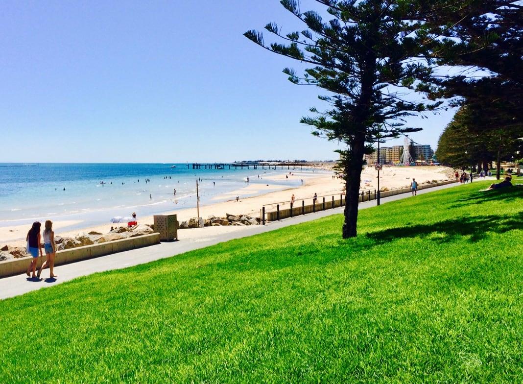 Glenelg beach jetty Adelaide