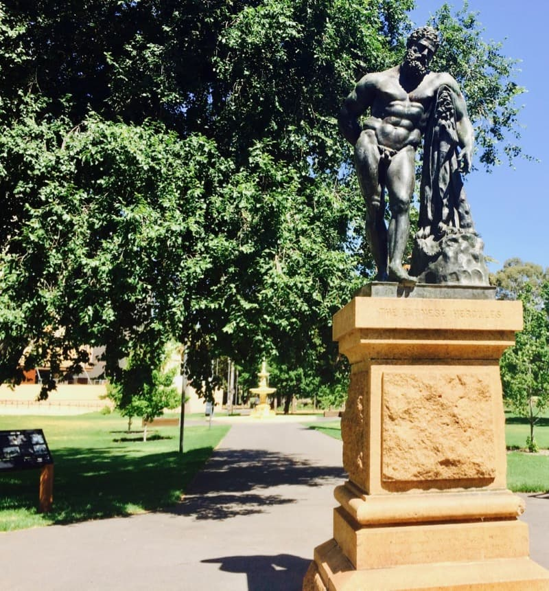 Hercules statue Adelaide