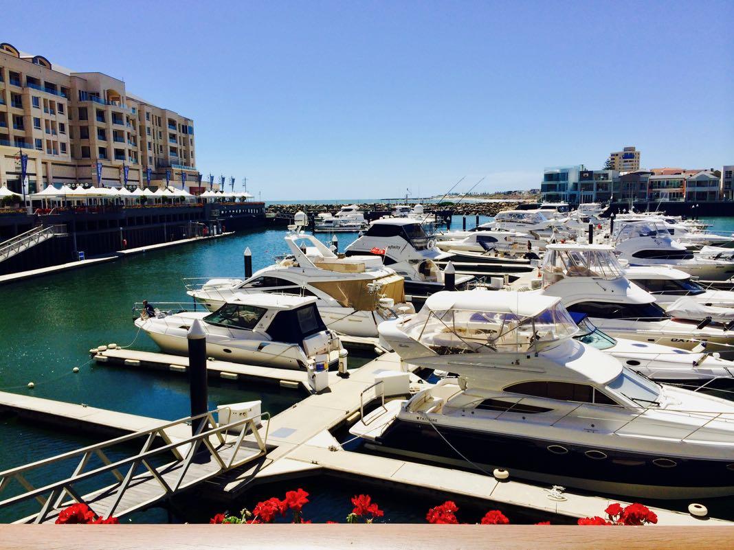 Marina Pier at Holdfast Shores