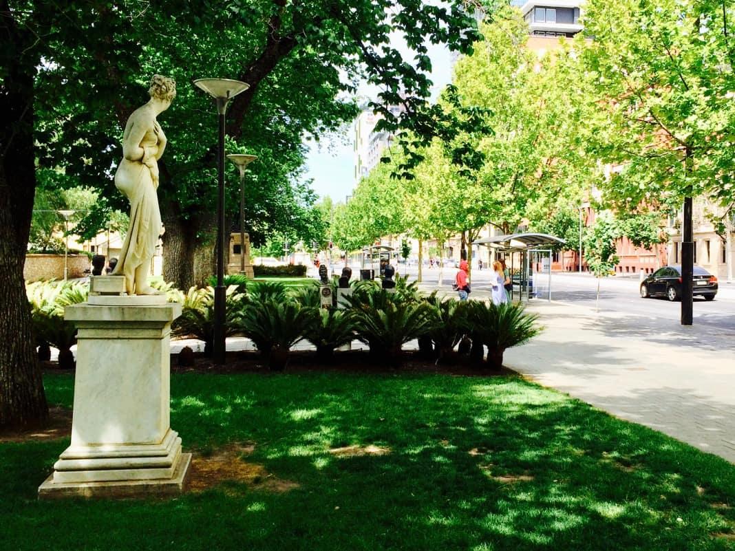 Statue of Venus North Terrace Adelaide