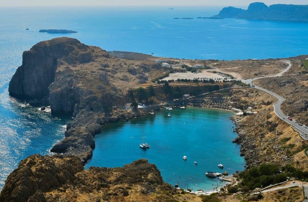 Agios Pavlos Saint Paul Rhodes Island