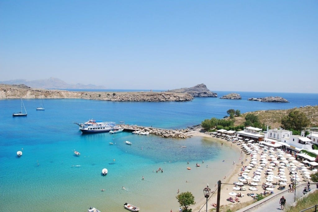 Best beaches in Greece Lindos