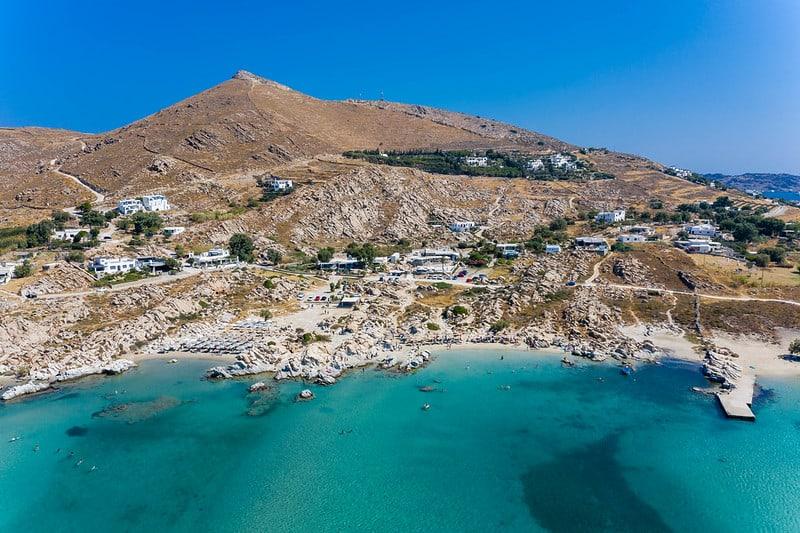 Kolimbithres beach Paros Island