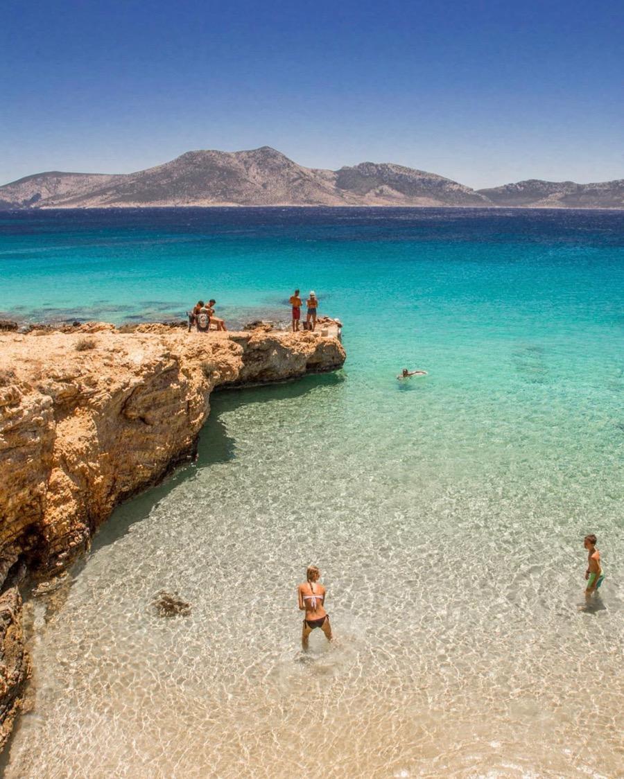 Koufonisia beach Greece