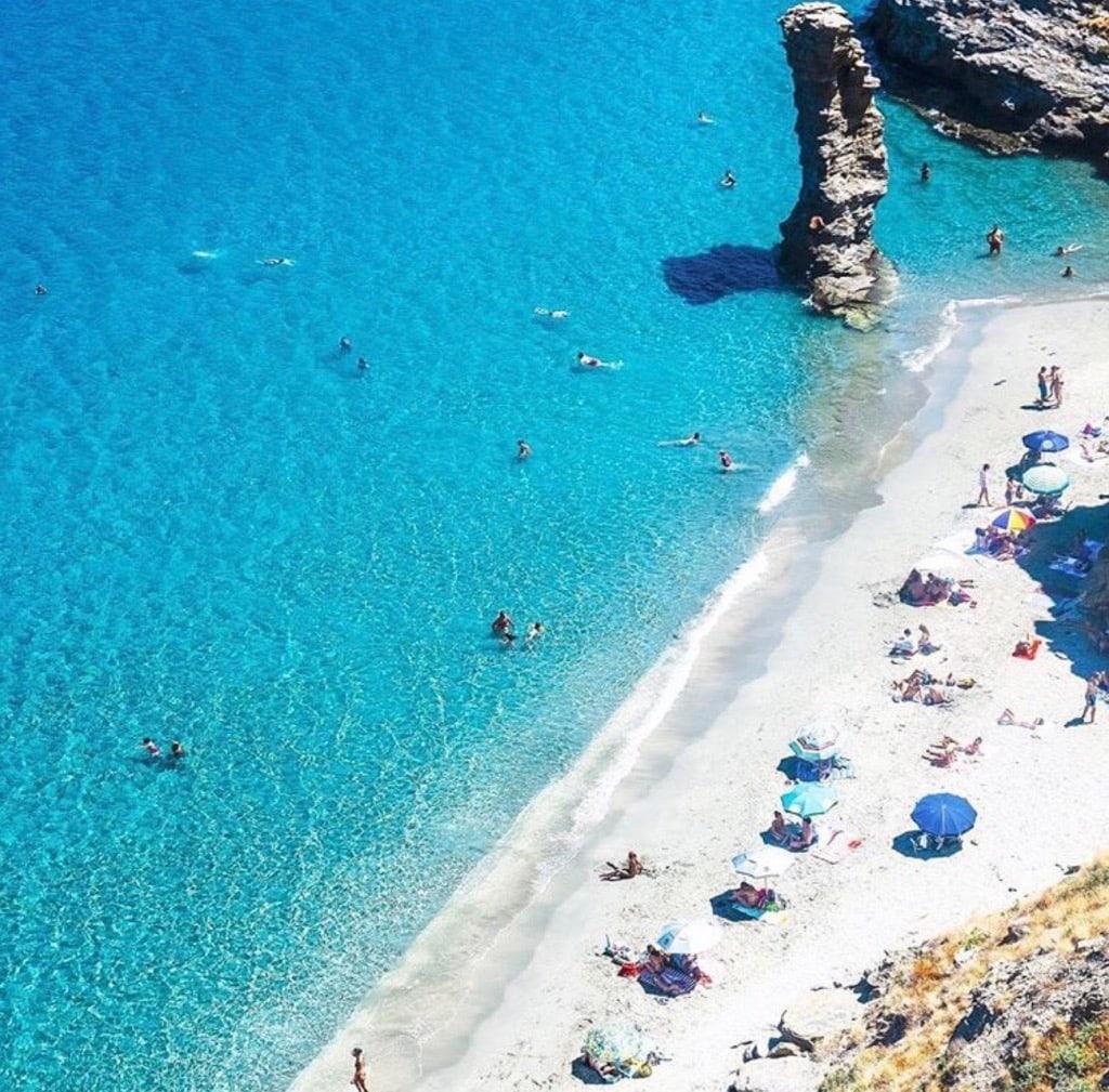 Tis Grias To Pidima Beach Andros Greece