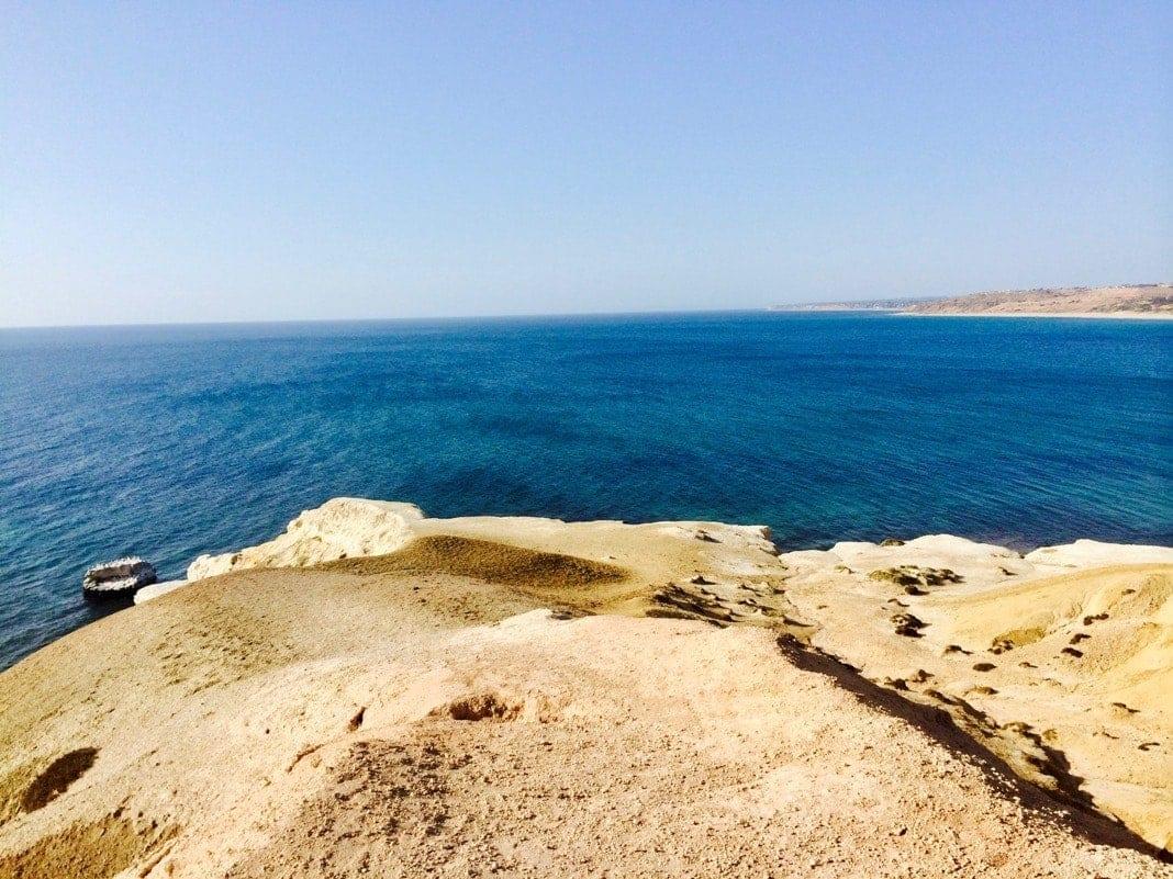 Gull Rock between Port Willunga and Maslins