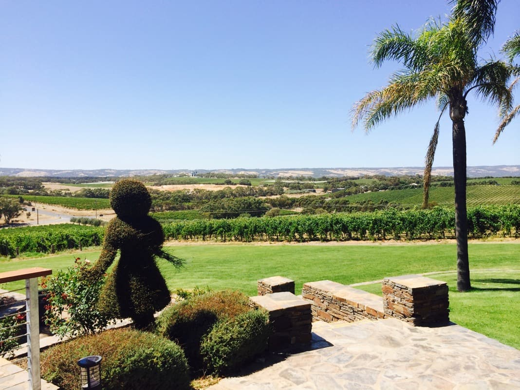 Hedge girl Mollydooker Wines Vineyards McLaren Vale