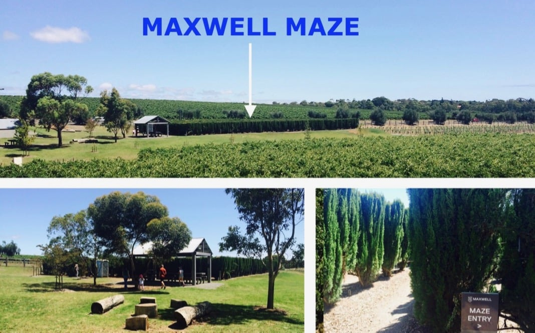 Maxwell Maze Labyrinth McLaren Vale