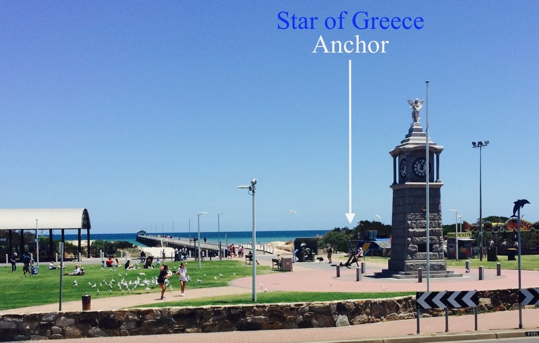 Star of Greece Anchor Semaphore Jetty