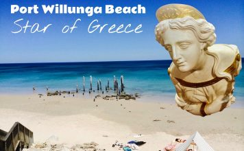 Star of Greece Port Willunga Beach Jetty Pylons Fleurieu Peninsula Adelaide