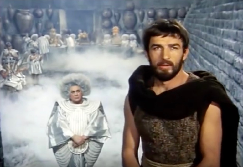 Movies based on The Odyssey Odissea TV Mini-Series 1968