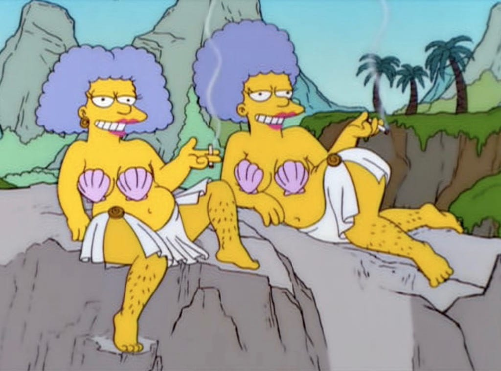Sirens from The Simpsons