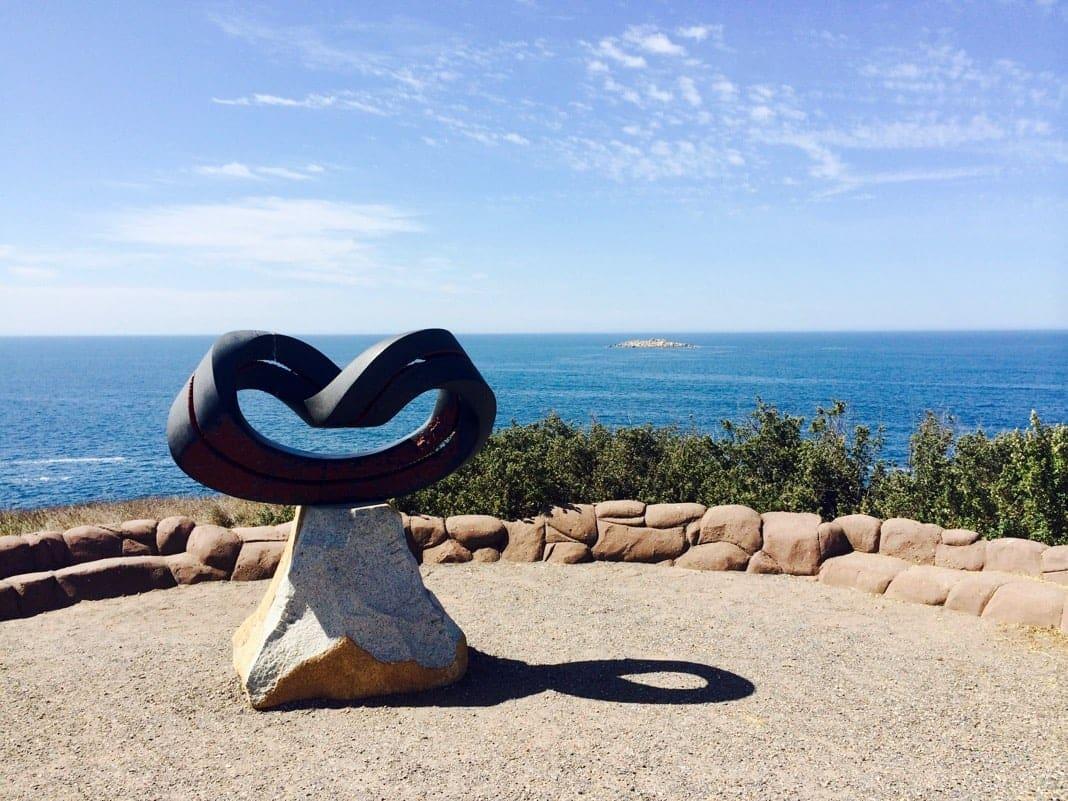 Granite Island Sculpture by the sea