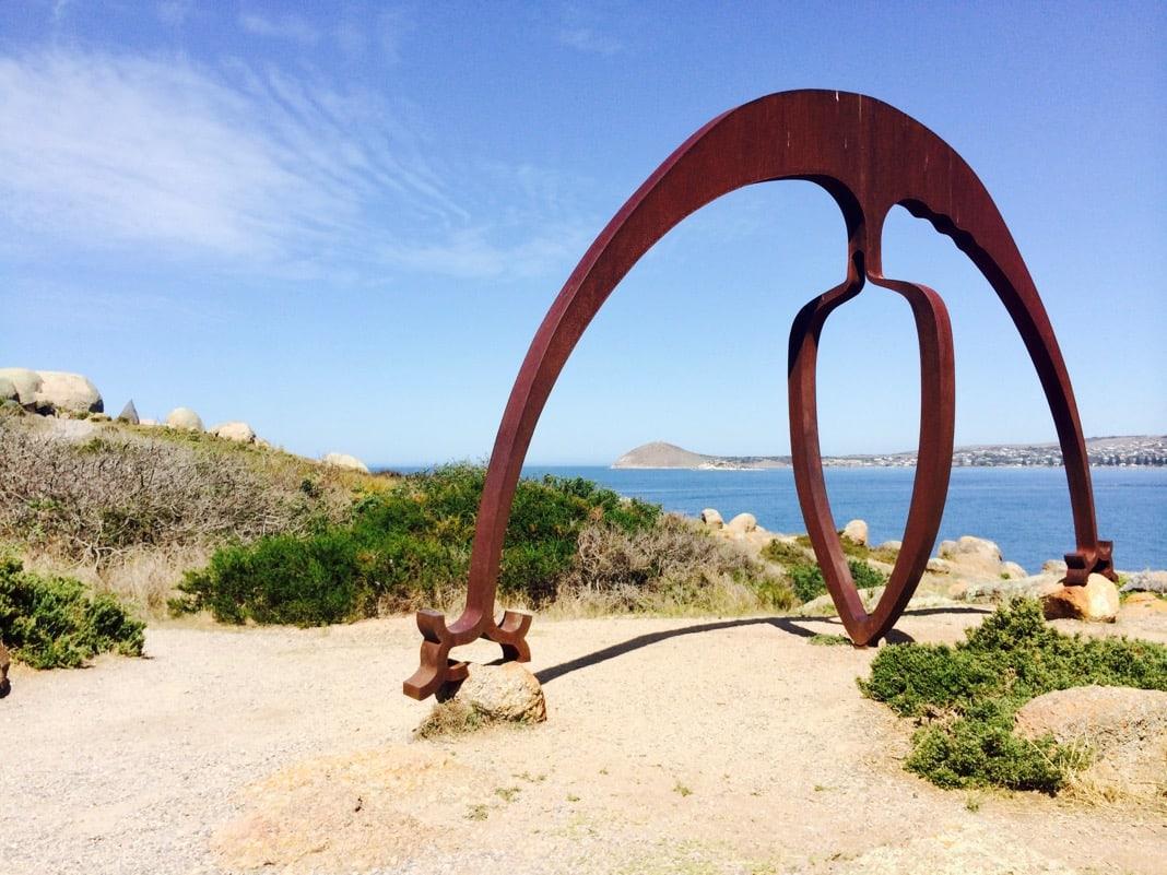 Large Sculpture Granite Island