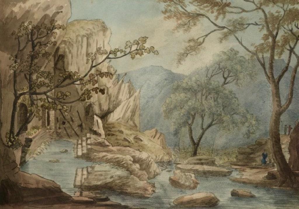 The Castalian Spring Delphi