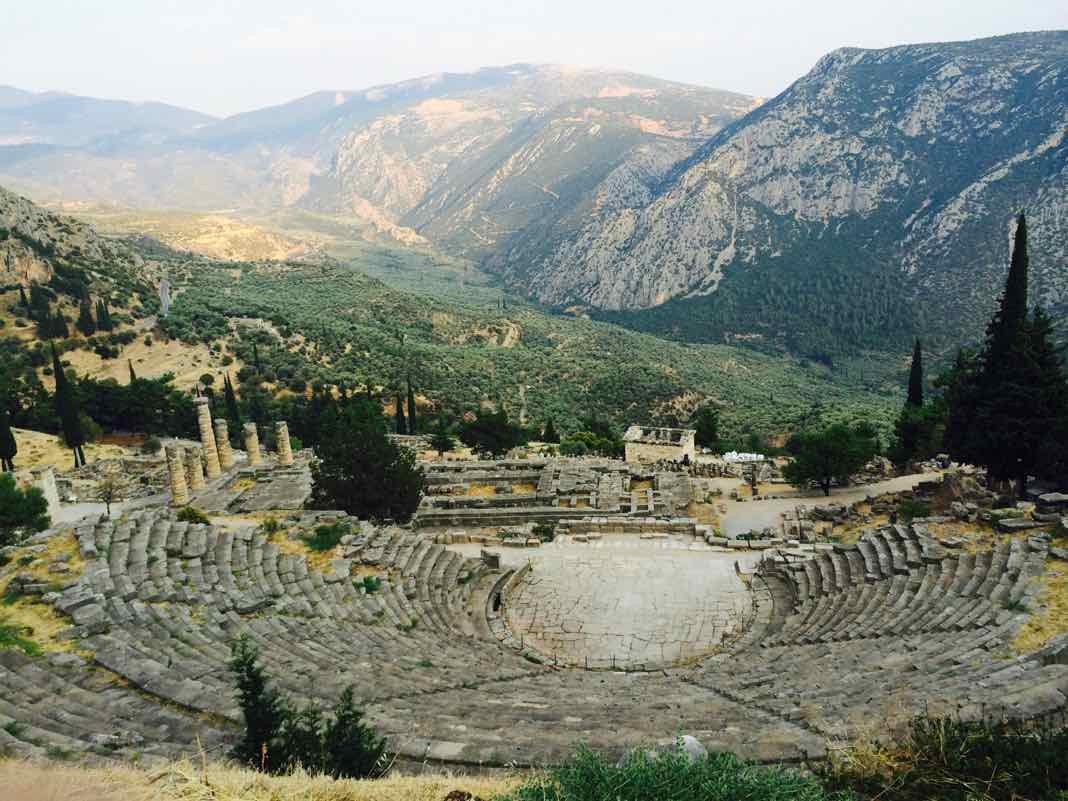 Delphi Theatre Ancient Greece