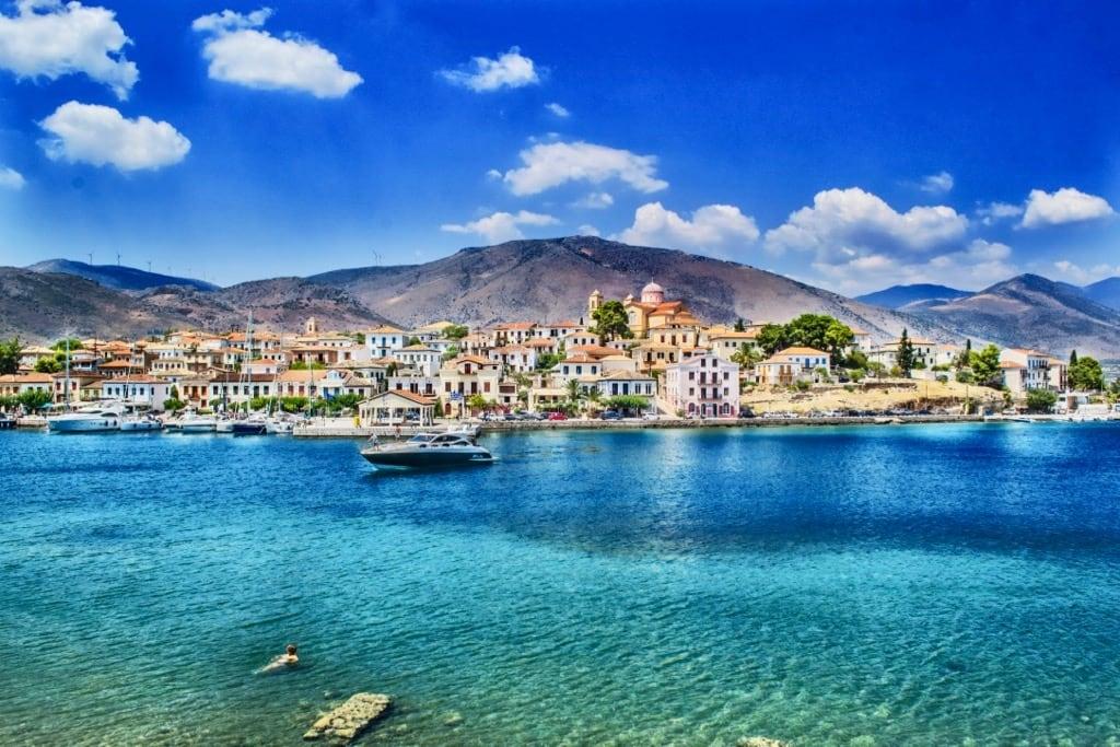 Galaxidi part of the municipality Delphi