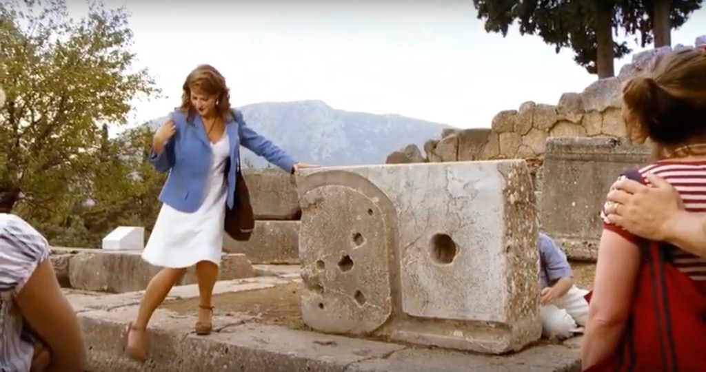 The Oracle of Delphi My Life in Ruins Movie scene