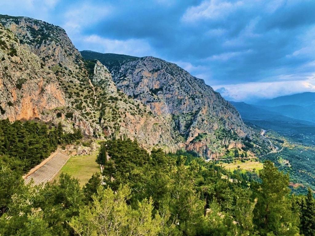 The Stadium Delphi Greece