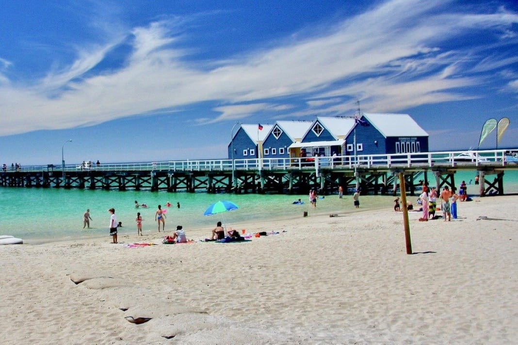 Busselton Jetty and Beach