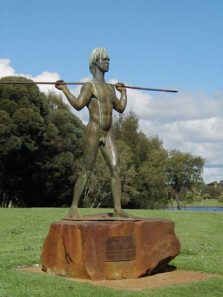 Yagan Statue Perth Attractions