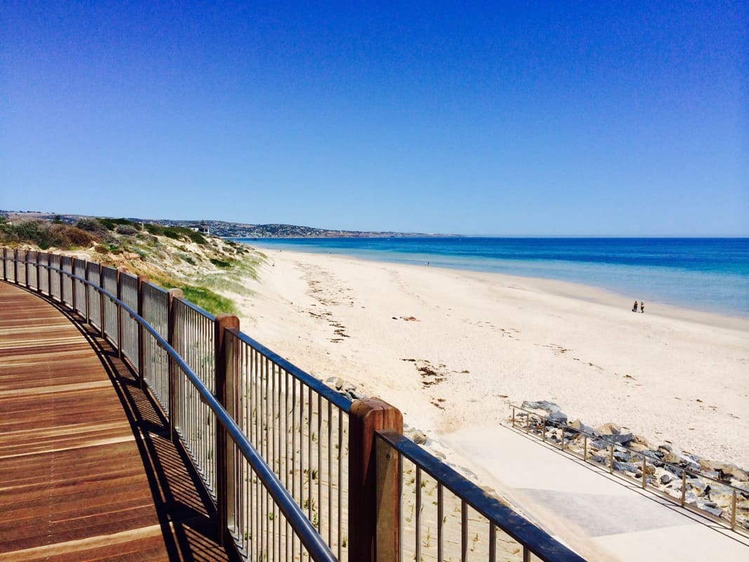 Best Walks in Adelaide Glenelg to Brighton Beach