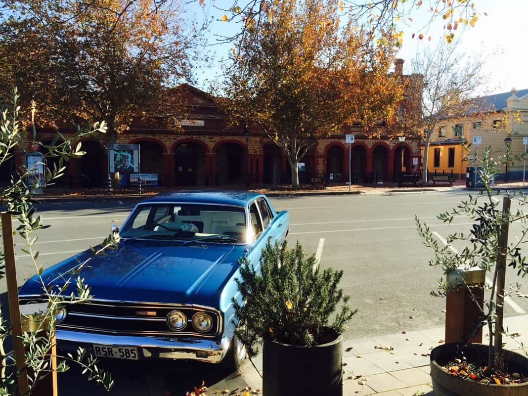 Blue Car in Port Adelaide