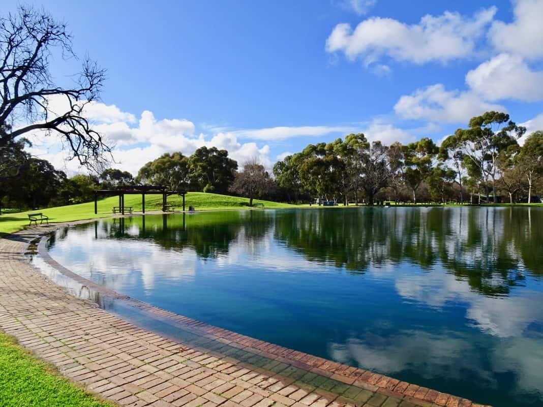 Bonython Park Pond Adelaide