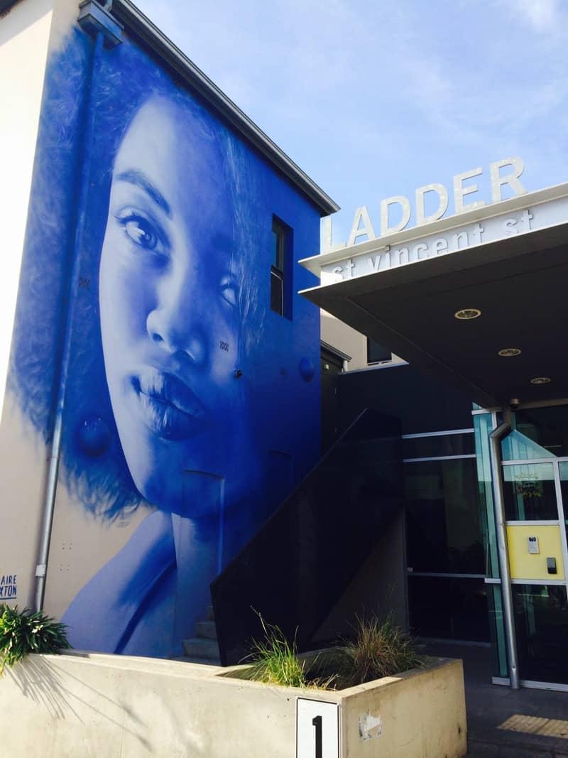 Ladder Street Mural Port Adelaide