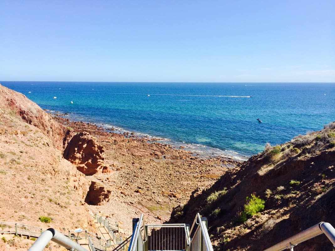 Marion Coastal Walkway Steps