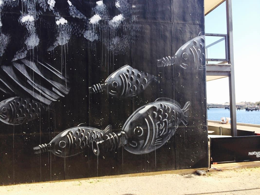 Port Adelaide Fish Mural