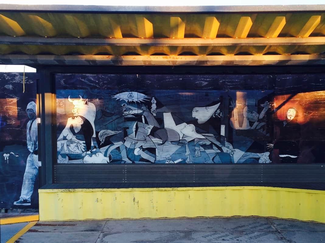 Port Adelaide Street Art Murals Lighthouse Square