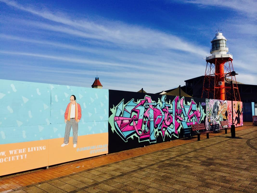 Seinfeld character George Costanza Mural Port Adelaide