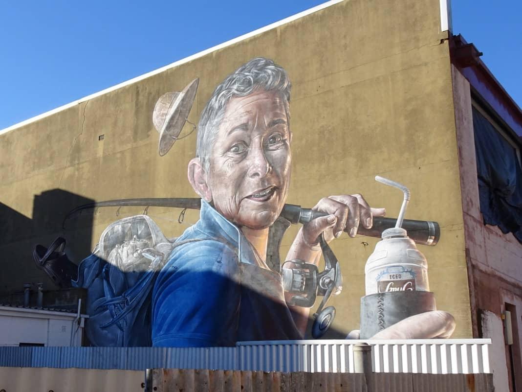 Smug One Mural Port Adelaide Wonderwalls