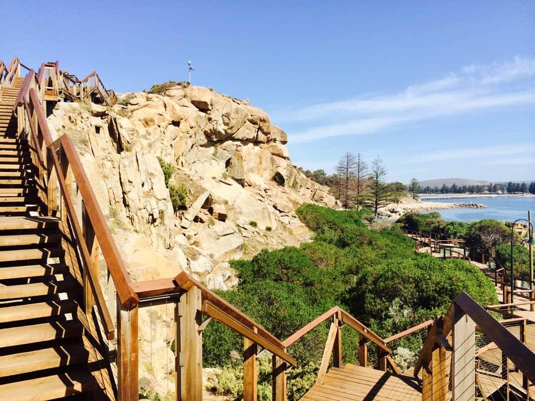 Stairway Granite Island
