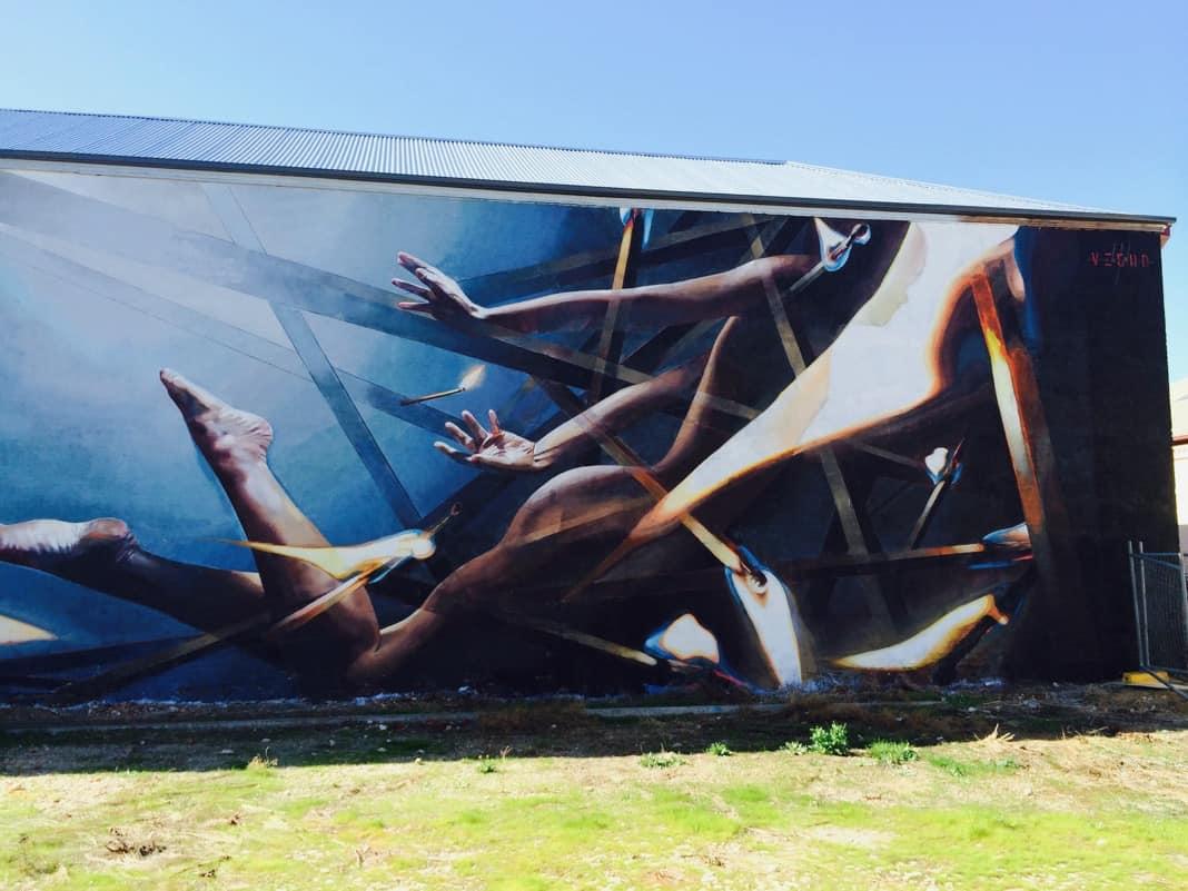 Street Art in Port Adelaide South Australia