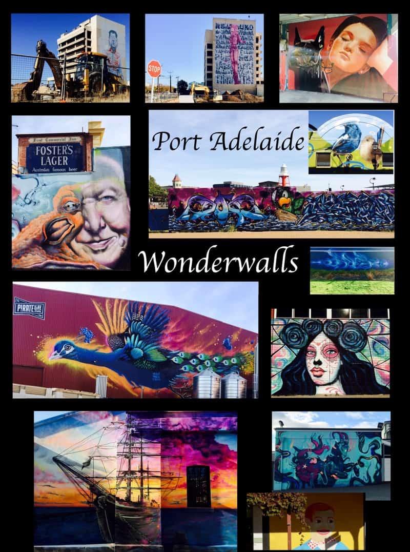 Variety of Wonderwalls in Port Adelaide