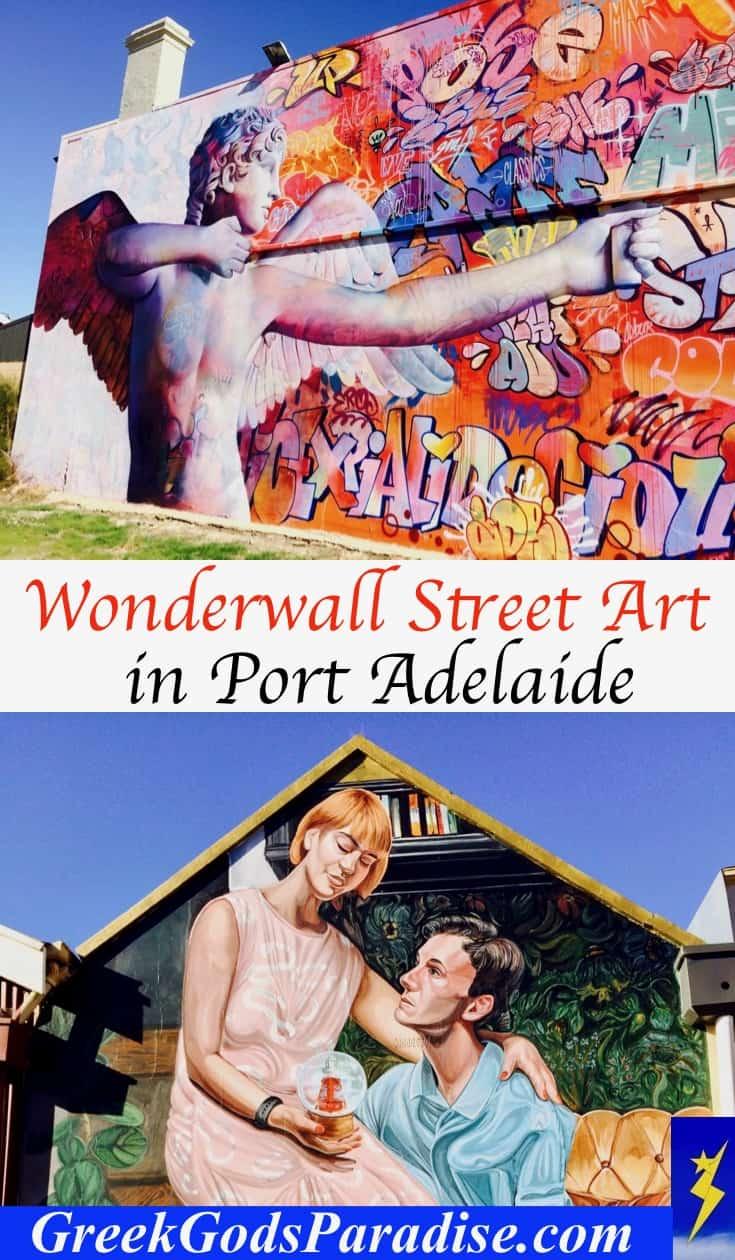 Wonderwall Street Art in Port Adelaide South Australia