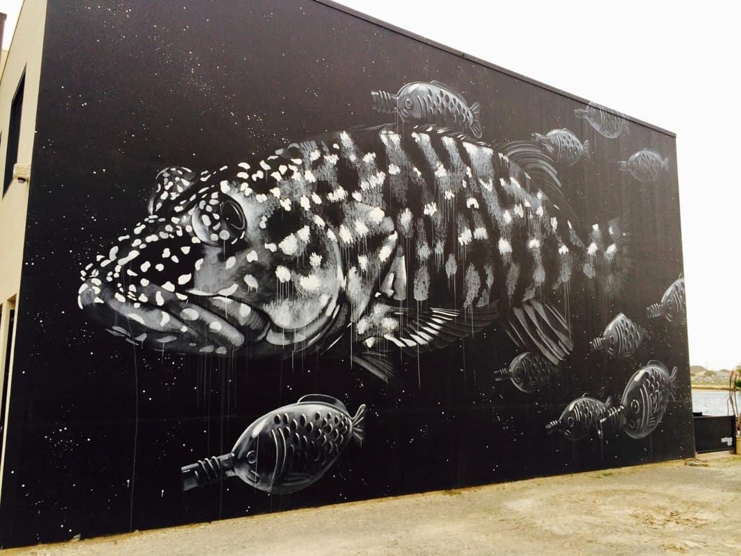 Wonderwalls Port Adelaide Fish Mural