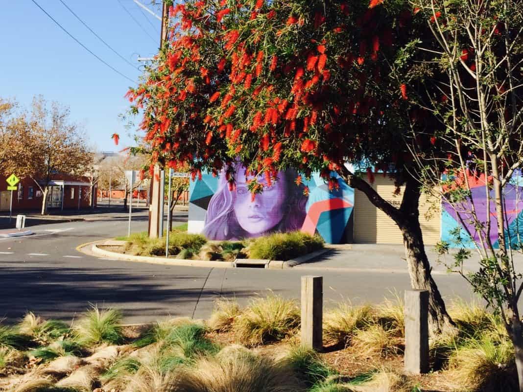 Wonderwalls Port Adelaide Mural Street Art