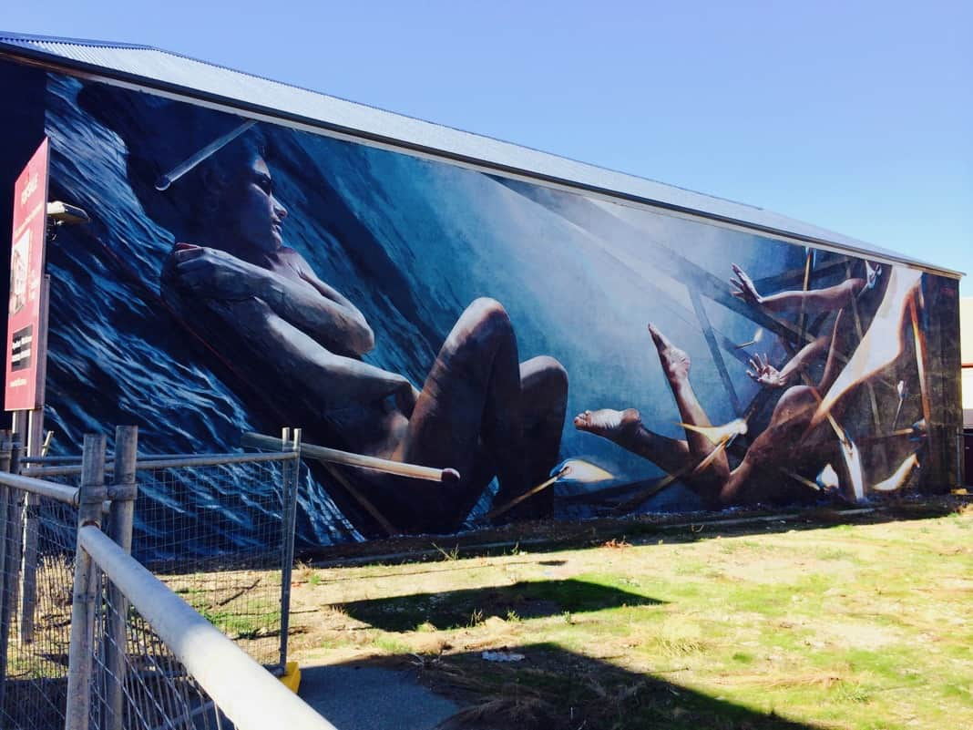 Wonderwalls Port Adelaide Mural