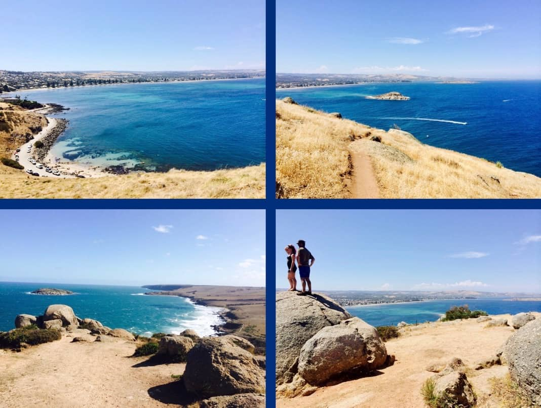 Hikers The Bluff Victor Harbor