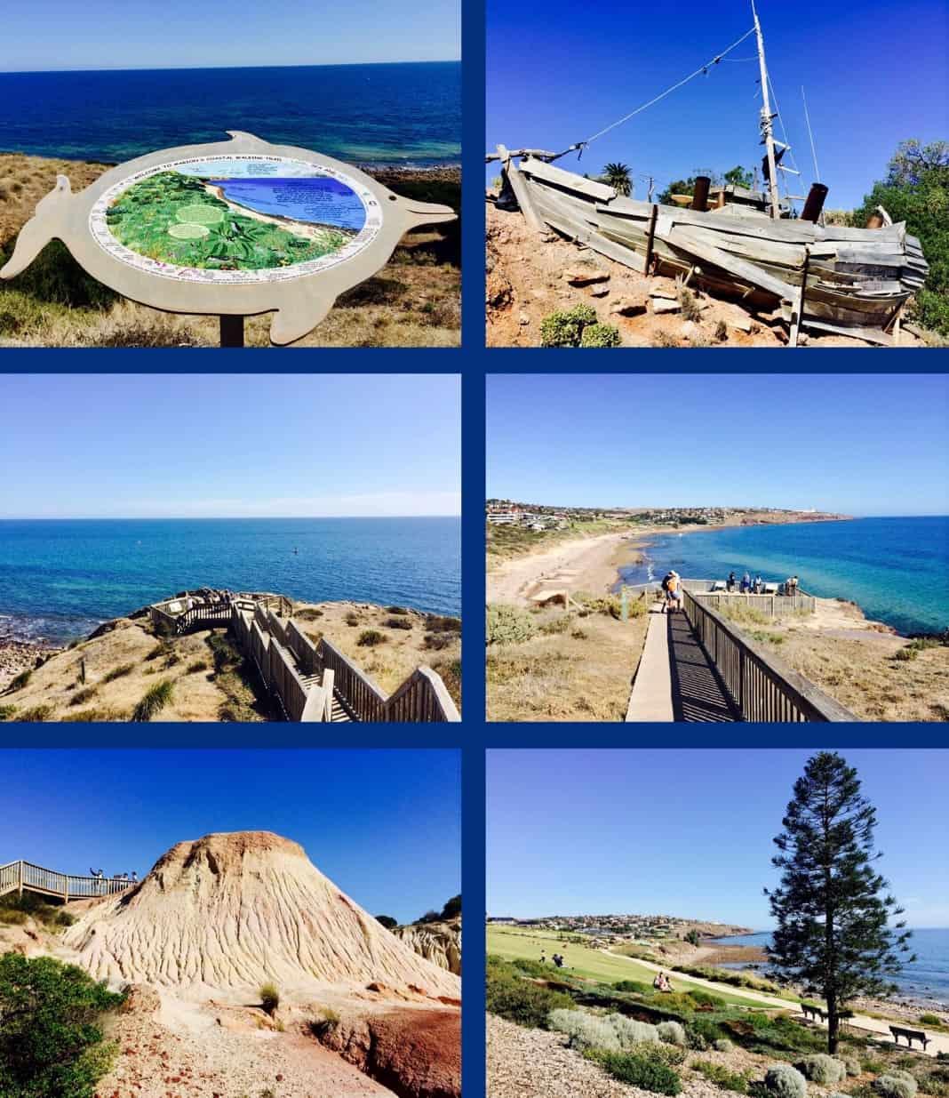 Marion Coastal Walk Adelaide SA