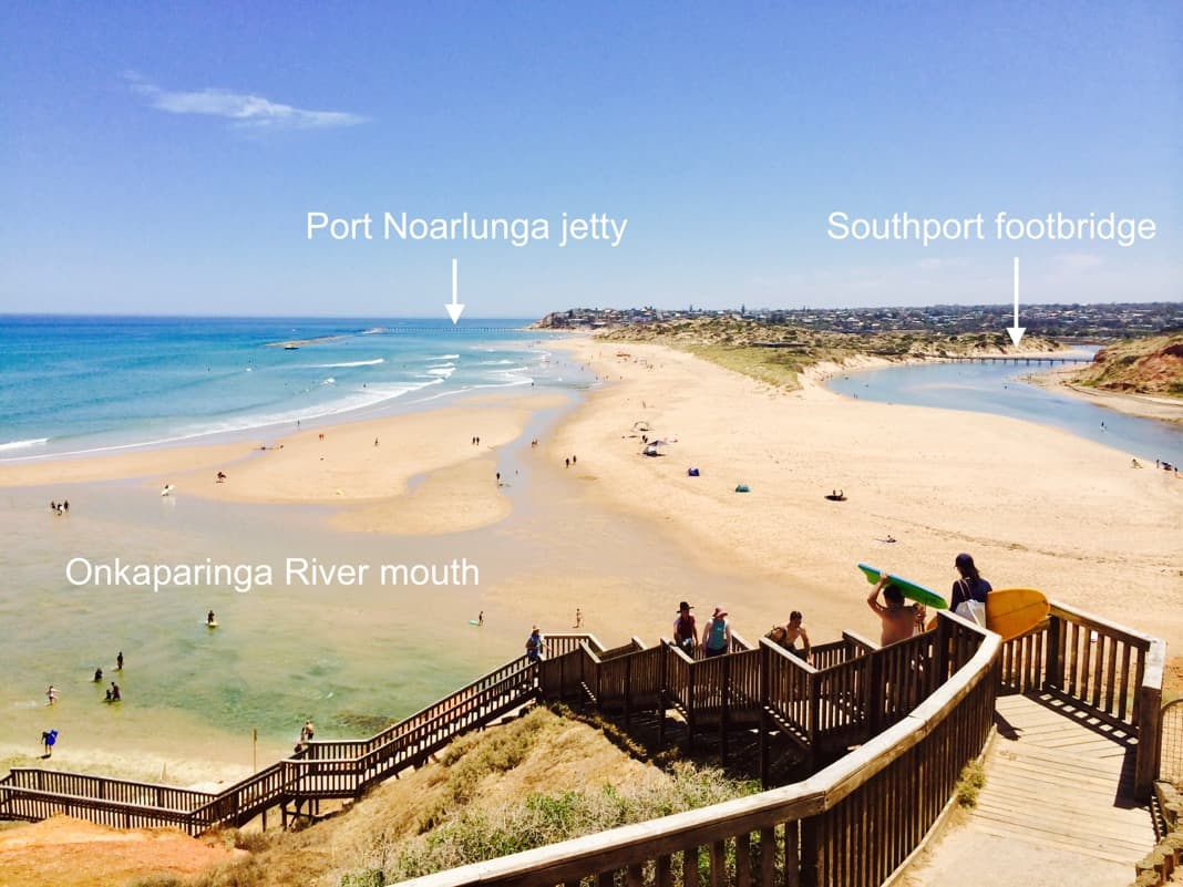 Onkaparinga River Southport Port Noarlunga