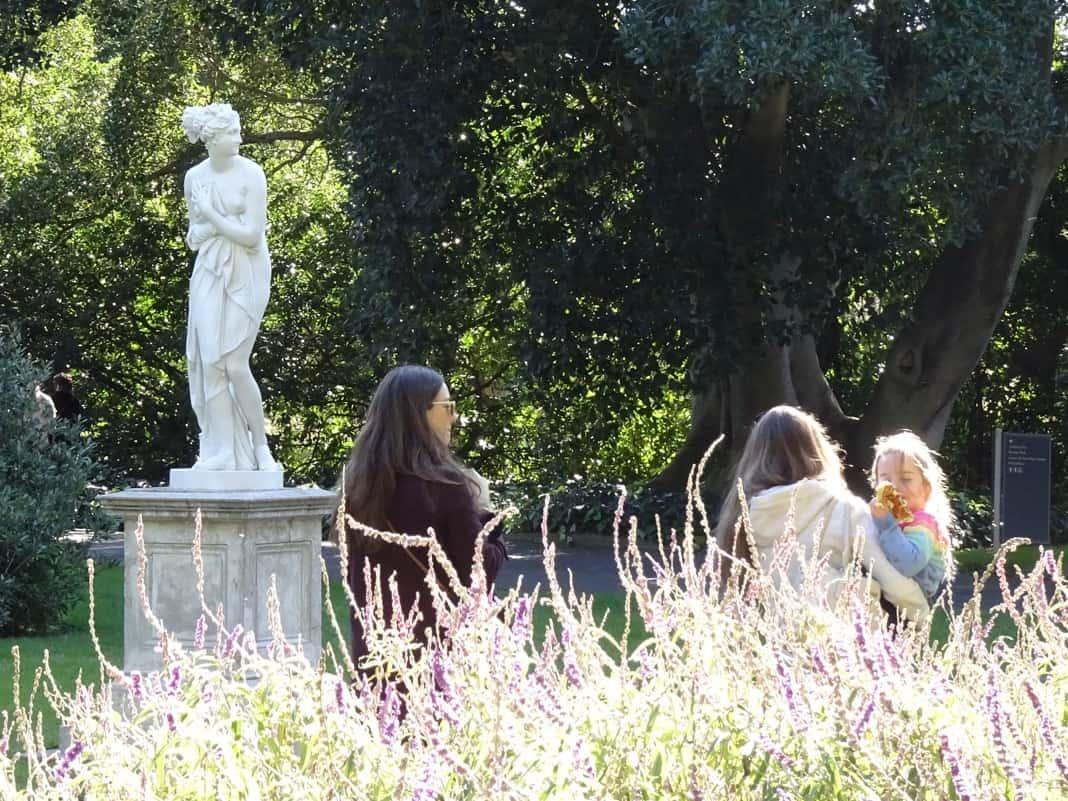 Venus Statue Adelaide Botanic Gardens
