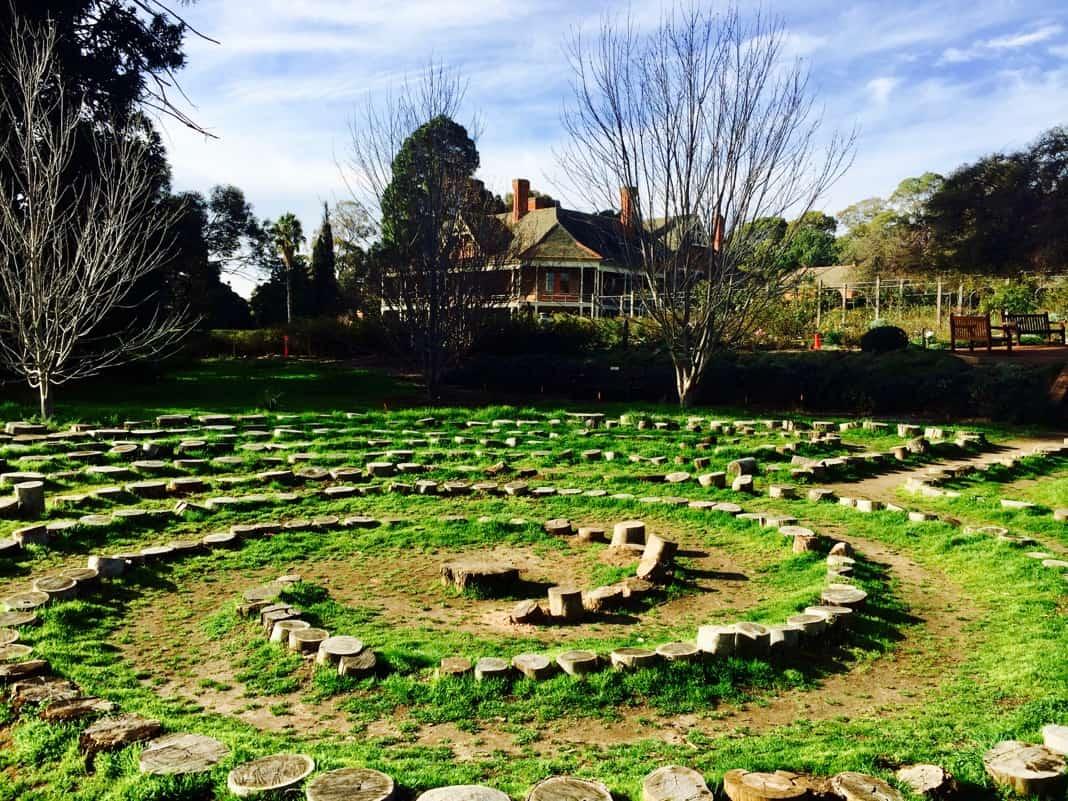 Waite Arboretum Labyrinth Adelaide